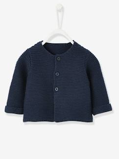 Babymode-Pullover, Strickjacken & Sweatshirts-Baby-Strickjacke