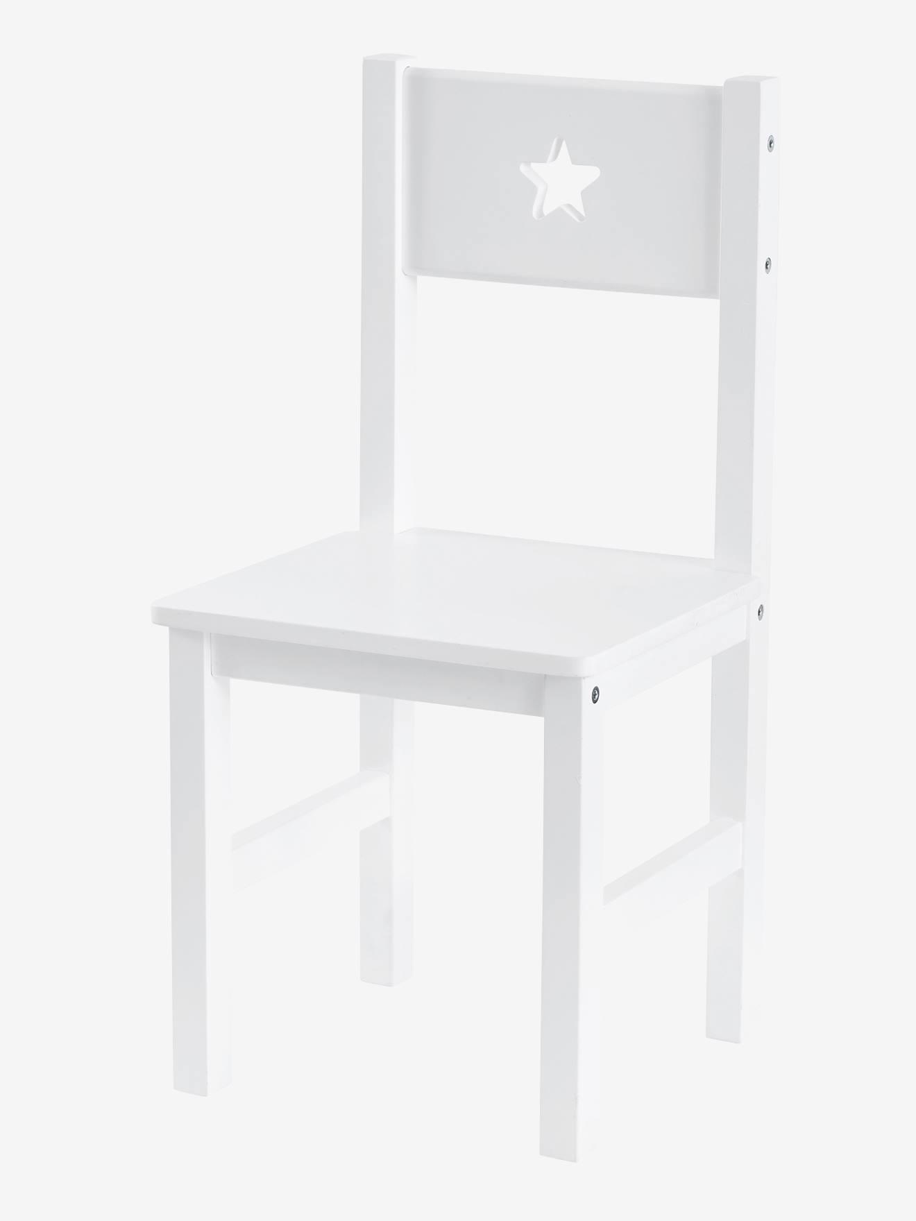 Kinderstuhl ´´Sirius´´, Sitzhöhe 30 cm weiß von vertbaudet