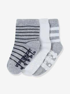 Babymode-Babysocken, Strümpfe-HAPPY PRICE 3er-Pack Babysocken, Antirutschsohle
