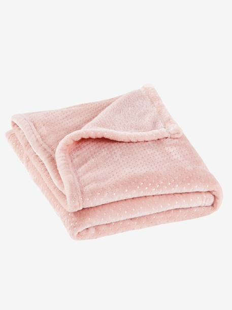 Babydecke, Fleece - rosa - 1