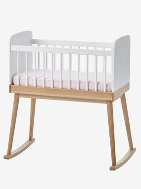 vertbaudet-babywiege-confetti-einfarbig-hellweiss