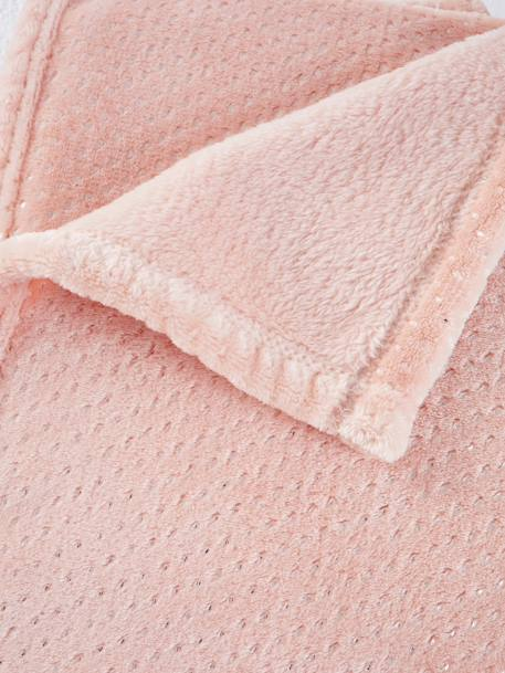 Babydecke, Fleece - rosa - 2