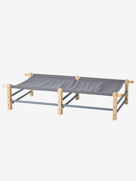 vertbaudet g stebett f r kinder in grau. Black Bedroom Furniture Sets. Home Design Ideas