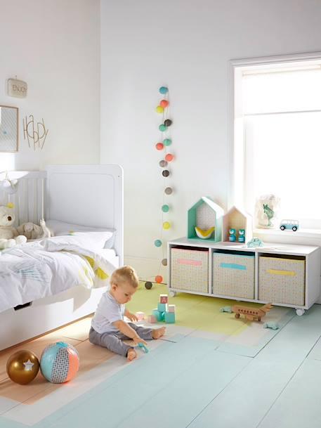 vertbaudet lichtergirlande f r kinderzimmer lichterkette in blau. Black Bedroom Furniture Sets. Home Design Ideas