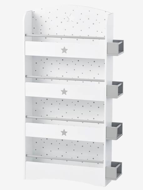 vertbaudet kinder b cherregal sirius in wei natur. Black Bedroom Furniture Sets. Home Design Ideas