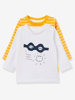Babymode-T-Shirts & Unterziehpullover-HAPPY PRICE 2er-Pack Longsleeves Baby Jungen