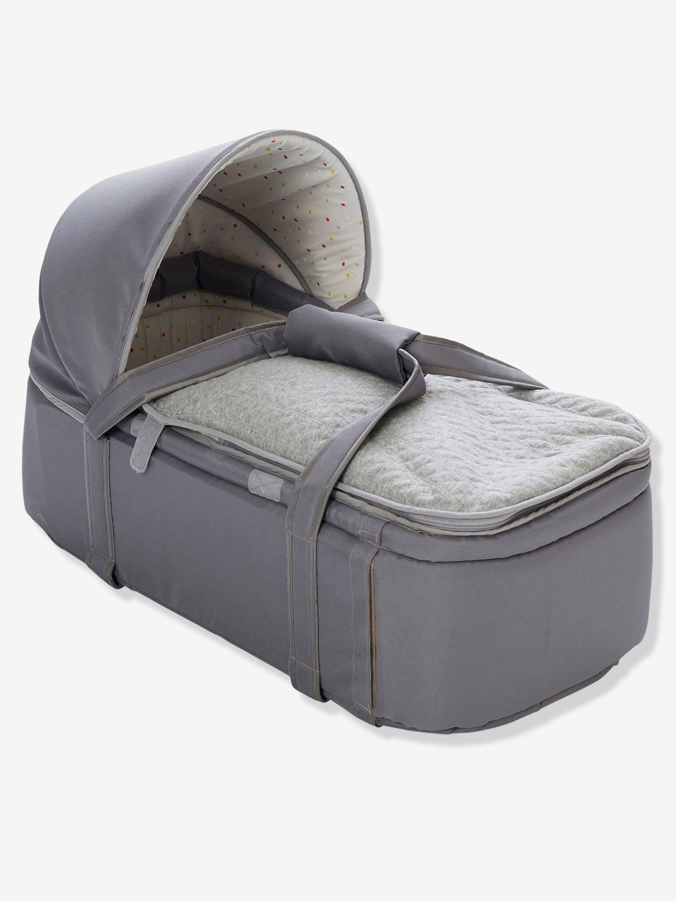 VERTBAUDET Softtragetasche für Babys grau