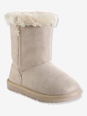 winterstiefel-fur-madchen-velours-sand-glanzeffekt-gro-e-32-von-vertbaudet