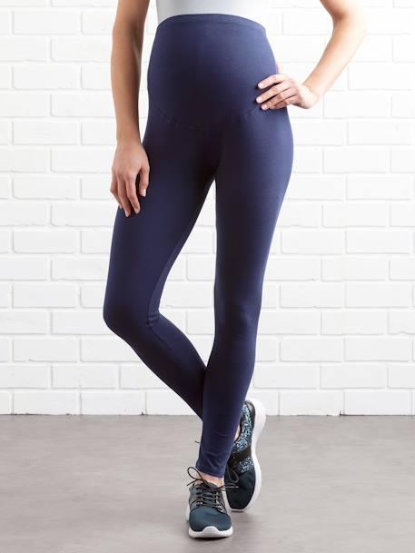 Laufschuhe gemütlich frisch reich und großartig Vertbaudet Leggings für die Schwangerschaft in dunkelblau