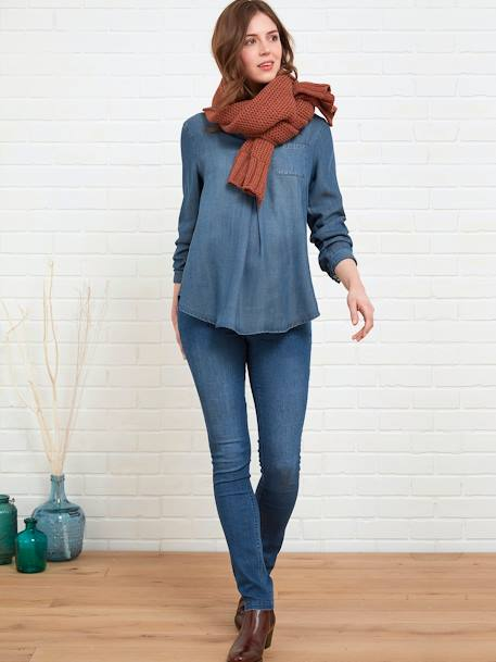 Umstands Slim-Fit-Jeans, Schrittl. 85 cm - black+blue stone+dark blue+grau+triple stone - 9