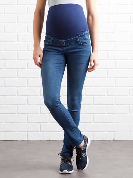 Umstands Slim-Fit-Jeans, Schrittl. 85 cm - black+blue stone+dark blue+triple stone - 7