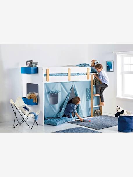 vertbaudet h ngeablage f r kinderbetten in blau. Black Bedroom Furniture Sets. Home Design Ideas