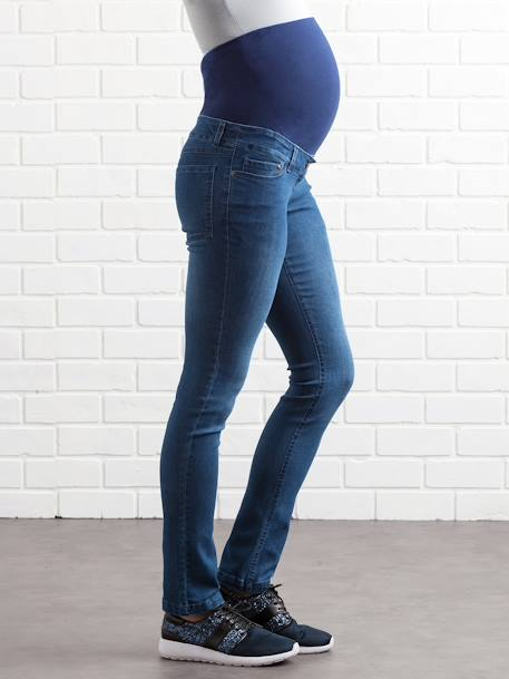 Umstands Slim-Fit-Jeans, Schrittl. 85 cm - black+blue stone+dark blue+triple stone - 12