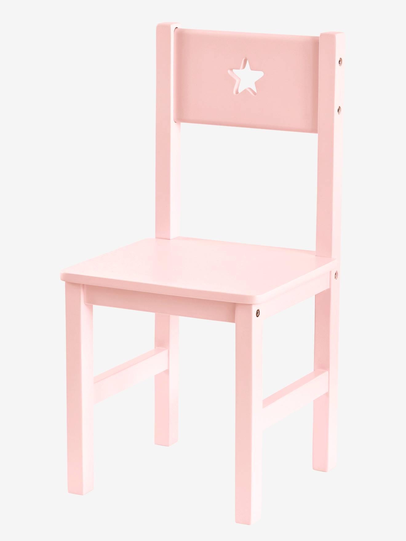 Kinderstuhl ´´Sirius´´, Sitzhöhe 30 cm rosa von vertbaudet