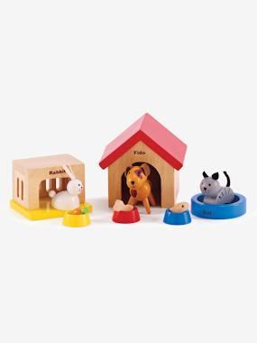 hape-holztiere-fur-puppenfamilie-hape-mehrfarbig