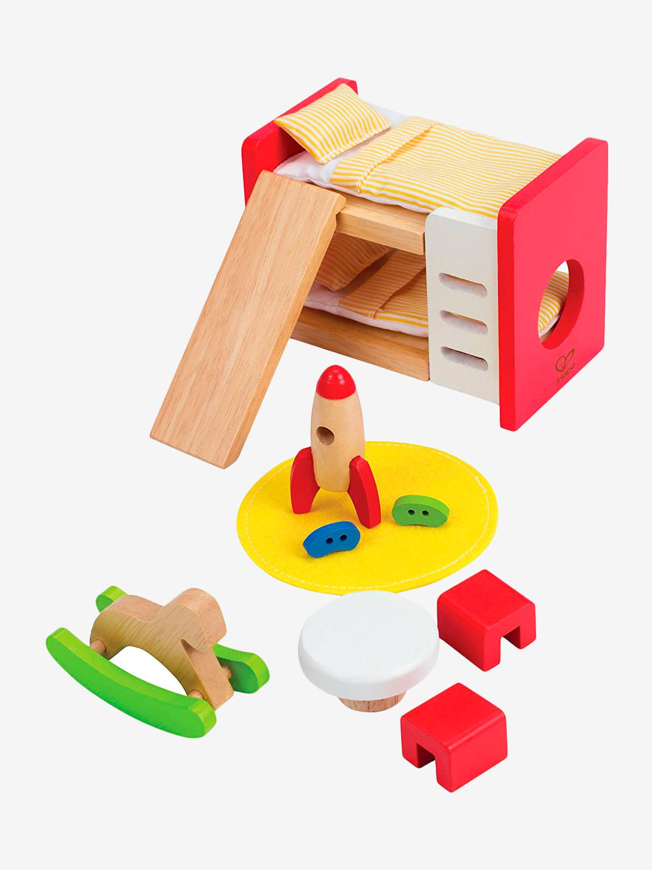 Hape Puppenhausmöbel von Hape, Kinderzimmer mehrfarbig