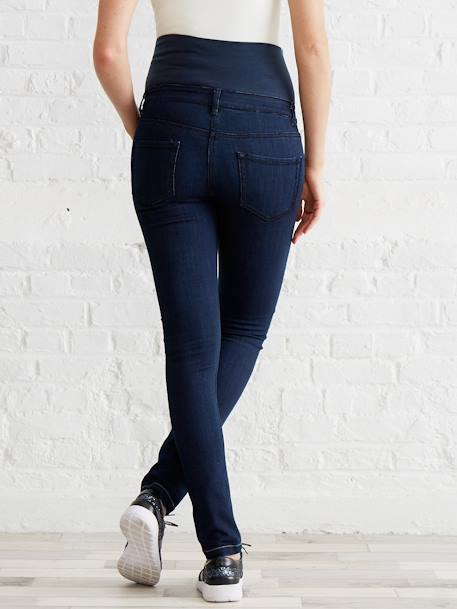 Umstands Slim-Fit-Jeans, Schrittl. 85 cm - black+blue stone+dark blue+grau+triple stone - 22