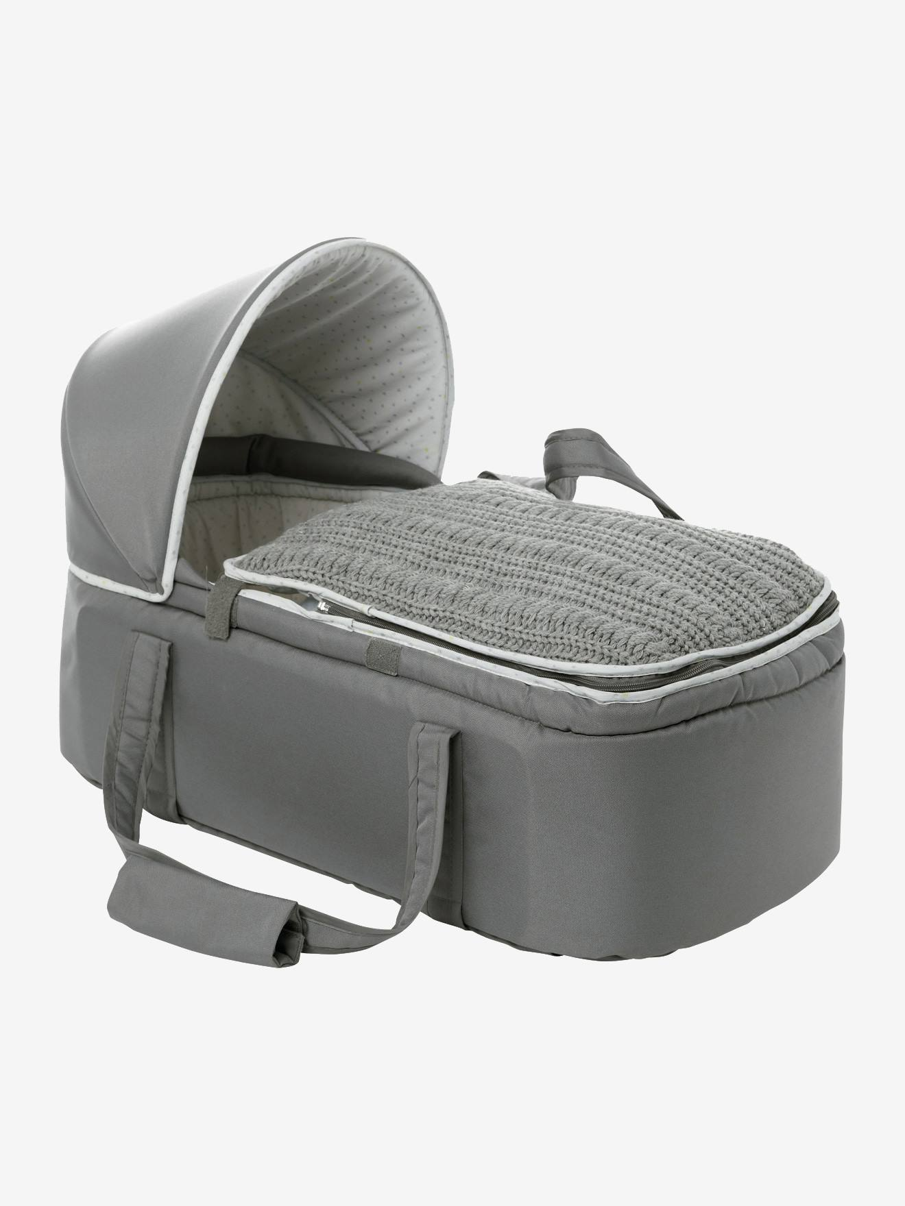 VERTBAUDET Softtragetasche für Babys dunkelgrau