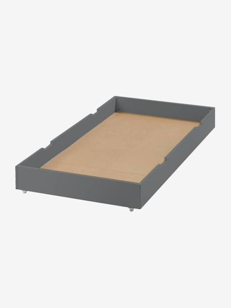 Vertbaudet Bettkasten Für Große Betten In Grau