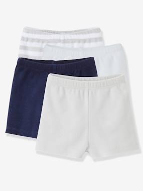 vertbaudet-4er-pack-frottee-shorts-baby-jungen-gestreift-hellgrau-gestreift-hellgrau-gro-e-62