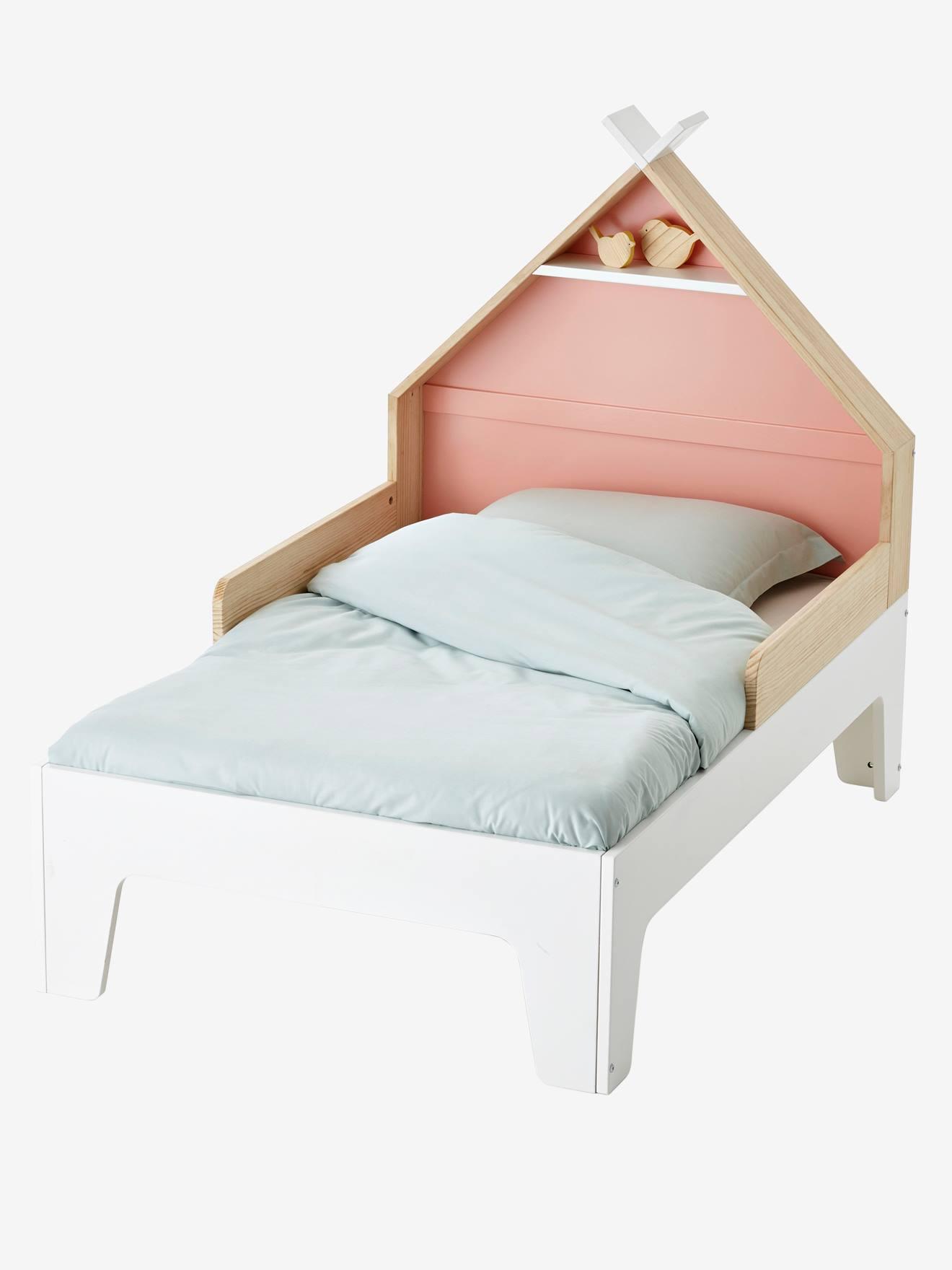 """Mitwachs-Kinderbett """"Tipili"""", Hausbett weiß von vertbaudet"""