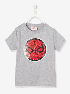 vertbaudet-spiderman-t-shirt-wendepailletten-grau-kinder-gr-110