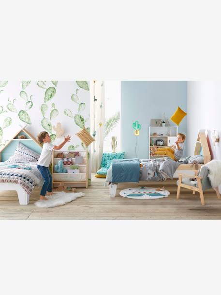 vertbaudet teppich in schaffell optik f r kinderzimmer in wei. Black Bedroom Furniture Sets. Home Design Ideas