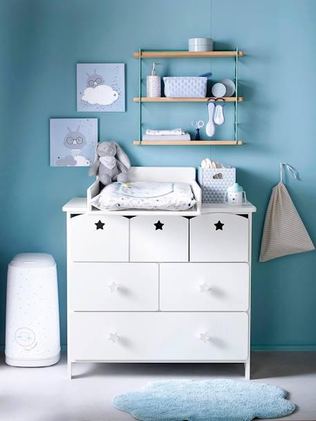 vertbaudet wandregal f r kinderzimmer in gr n natur. Black Bedroom Furniture Sets. Home Design Ideas