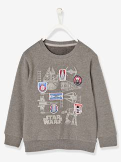 "Jungenkleidung-Sweatshirts-Jungensweatshirt ""Star Wars®"", Applikationen"