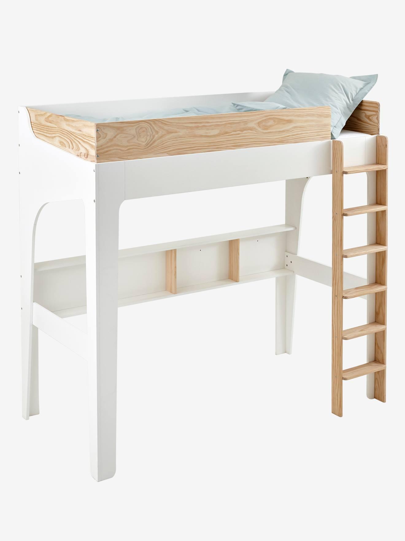 """Kombibett ,,Easyspace"""" für Kinderzimmer weiß/natur von vertbaudet"""