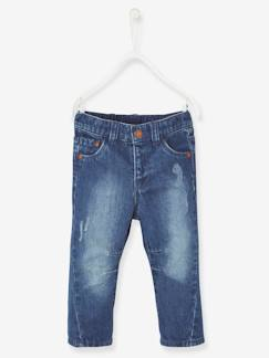 Denim Trends-Babymode-Jeans für Baby Jungen, Destroyed-Effekte