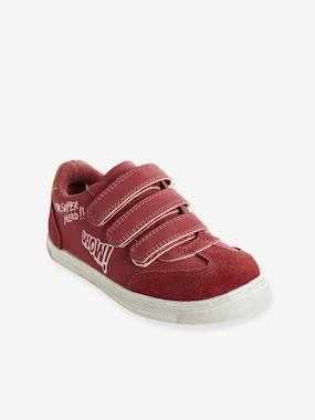 vertbaudet-sneakers-fur-kinder-klett-bordeaux-gr-31