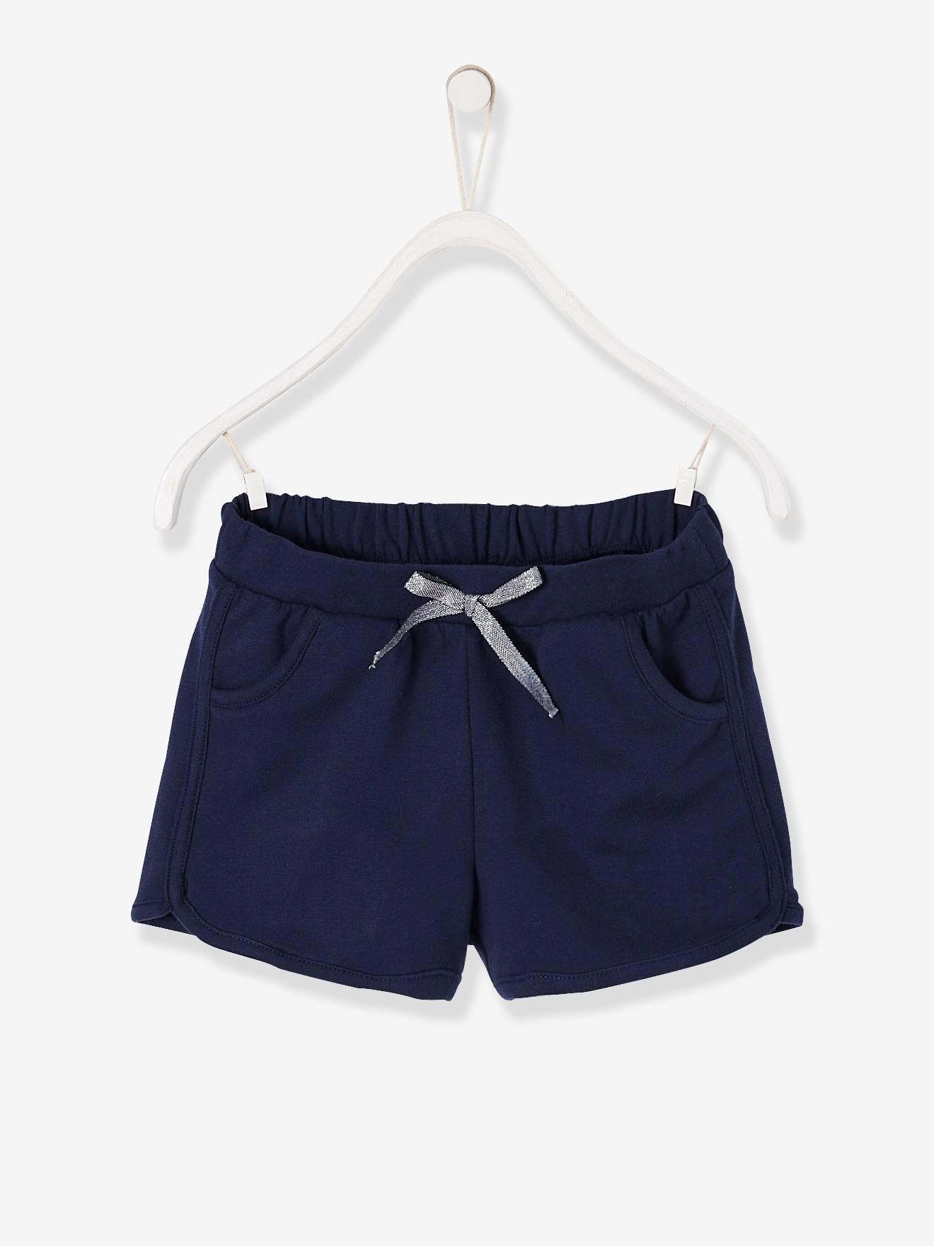 VERTBAUDET Sport-Shorts für Mädchen dunkelblau - Kinder - Gr. 122 Preisvergleich