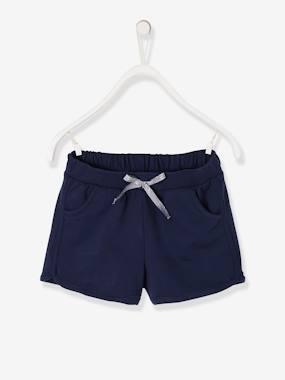 vertbaudet-sport-shorts-fur-madchen-dunkelblau-kinder-gr-146-152