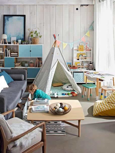 Vertbaudet Wimpel-Girlande für Kinderzimmer, Wimpelkette in mehrfarbig