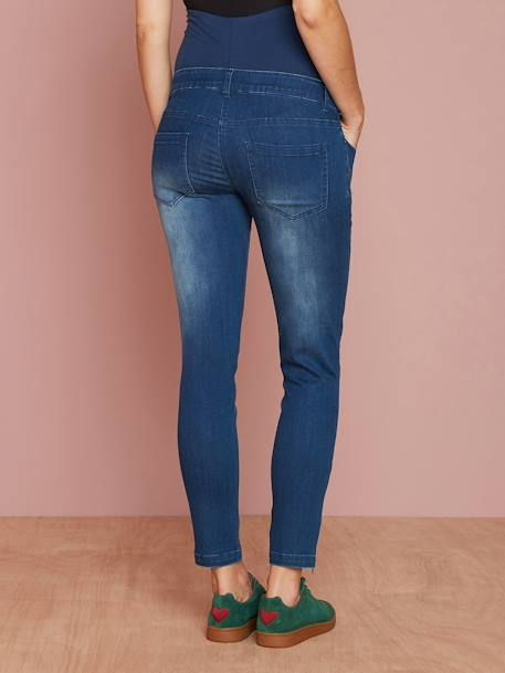 7/8-Umstands-Jeans, Skinny - black+dark blue - 8