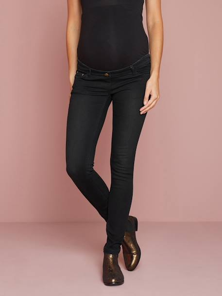 Umstands Slim-Fit-Jeans, Schrittl. 85 cm - black+blue stone+dark blue+triple stone - 1