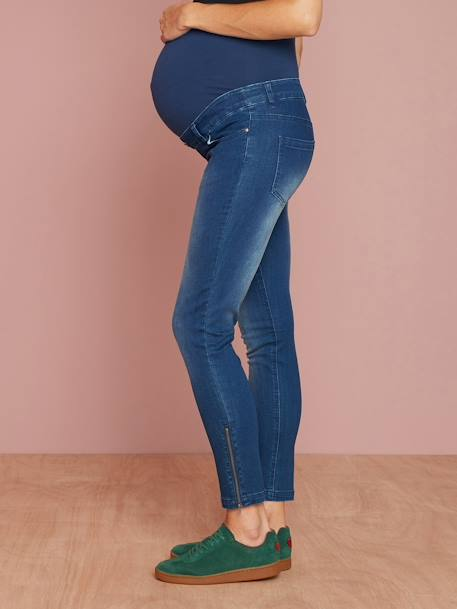 7/8-Umstands-Jeans, Skinny - black+dark blue - 9
