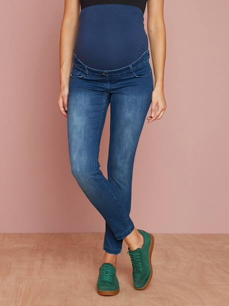 7/8-Umstands-Jeans, Skinny - black+dark blue - 6