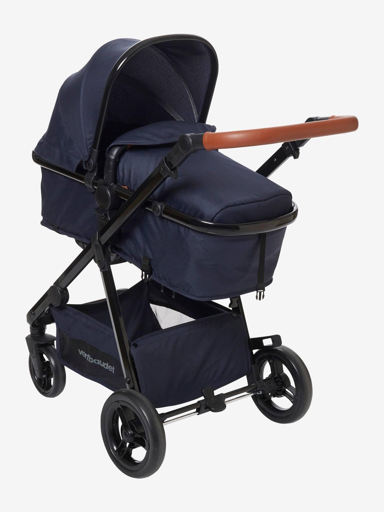 Kombi-Kinderwagen ´´Smartcity´´ blau von vertbaudet