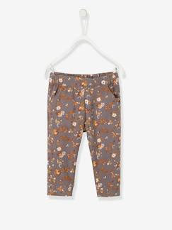 Into the woods Baby-Baby Thermohose mit Blumen