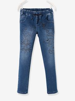 Kinderjeans-Bequeme Jungen Sweathose in Jeans-Optik