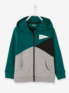Jungenkleidung-Pullover, Strickjacken, Sweatshirts-Strickjacken-Sweatjacke für Jungen, Colorblocking