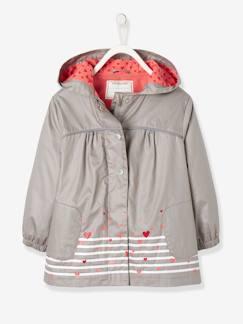 3c7c56fd34a386 Maedchenkleidung- Jacken & Mäntel-Jacke für Mädchen, Fleecefutter