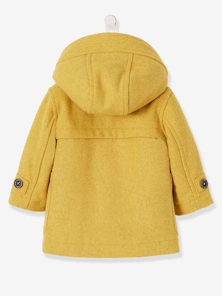 buy popular 4c610 3bafb Vertbaudet Dufflecoat für Baby Jungen, Winterjacke in curry