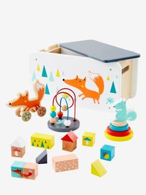 Image of Holzspielzeug-Set mit Fuchs von vertbaudet