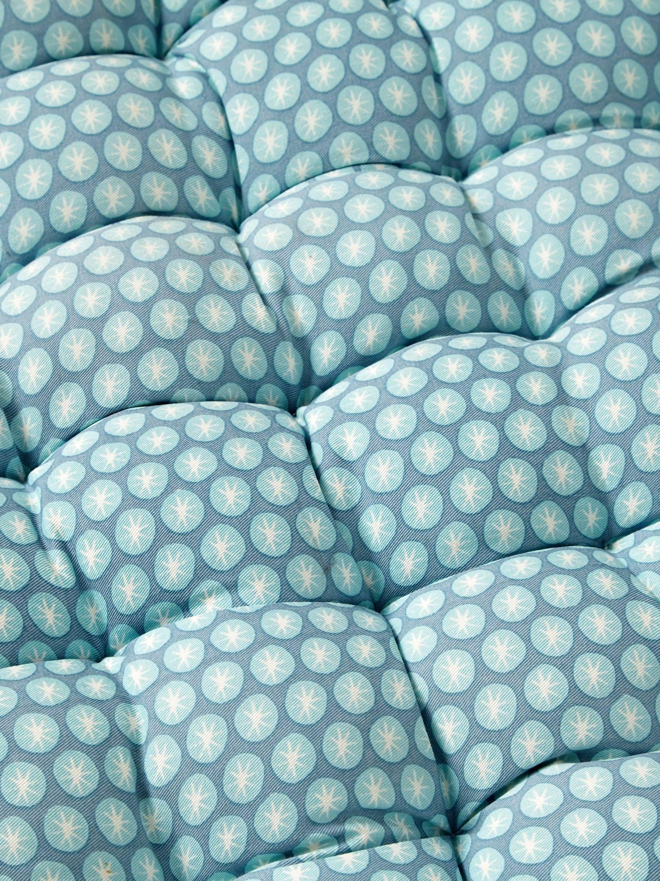 Vertbaudet Bodenmatratze Fur Kinderzimmer Bodenkissen In Blau Grun