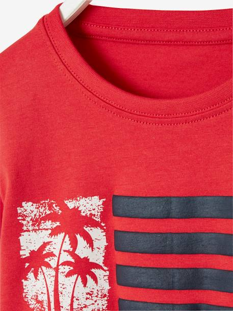 Jungen-Shirt, Applikation - blau+rot - 6