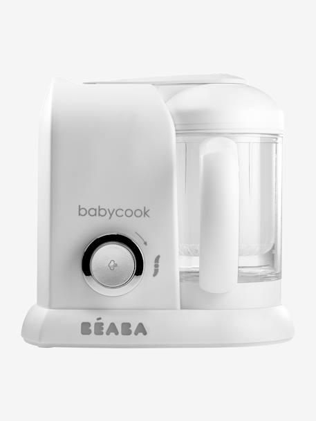 """Artikel klicken und genauer betrachten! - Der Babycook ist Dampfgarer und Mixer in einem, er kann auftauen, aufwärmen, kochen und mixen. Unverzichtbar, wenn Du Wert auf gutes, selbstgekochtes Babyessen legst! Das Multifunktionsgerät lässt sich kinderleicht bedienen. Selber kochen dauert nicht lange, denn Du kannst größere Portionen in nur 15 Minuten vorkochen und auf Vorrat einfrieren.Produktdetails: """"Babycook Solo"""" BEABA®:  4 Funktionen: Dampfgaren, Mixen, Auftauen, Erwärmen.   im Online Shop kaufen"""