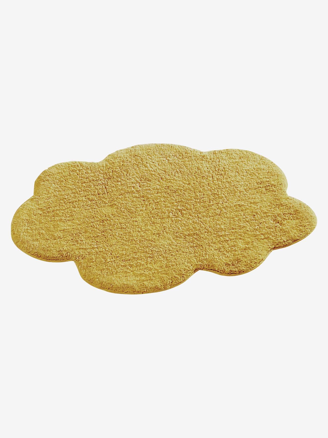 Vertbaudet Kinderzimmer-Teppich grafisches Muster senfgelb Bedruckt ONE Size